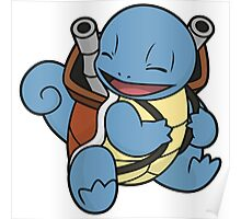 Squirtle's evolution Poster
