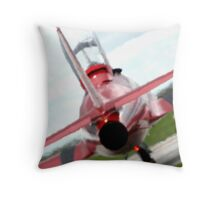Through the Exhaust Throw Pillow