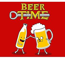 BEER TIME Photographic Print