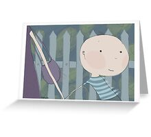 Hurry Up! Greeting Card