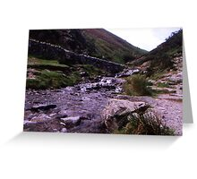 Carding Mill Valley Greeting Card