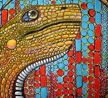 Digital Dino by Chelsea Kerwath