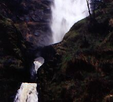 Highest waterfall in Britain... by Rachel Harris