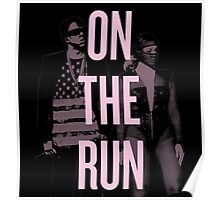 J + B On The Run (BEY Pink) Poster