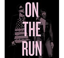 J + B On The Run (BEY Pink) Photographic Print
