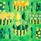 Lemons and Limes (Green) by Julie Nicholls