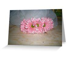 carol's crown of florals  Greeting Card
