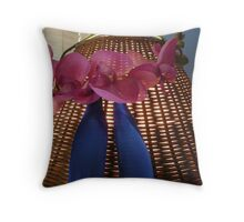 the essance of vallerie Throw Pillow