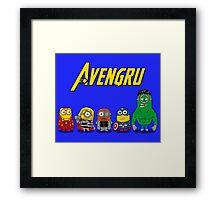THE AVENGRU Framed Print