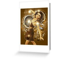 Dance of love Greeting Card