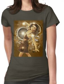 Dance of love Womens Fitted T-Shirt