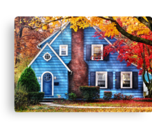 Little dream house  Canvas Print