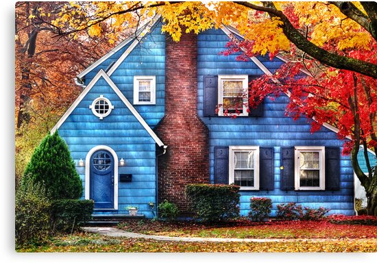 Little dream house  by Mike  Savad