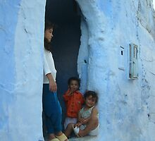 Kids in Chaouen - Morocco by sousouxxx