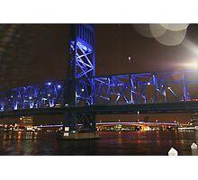 BRIDGE OF LIGHTS SHOT #2 Photographic Print
