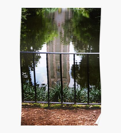 Reflections in Water Poster