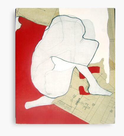 mapping myself3 Canvas Print