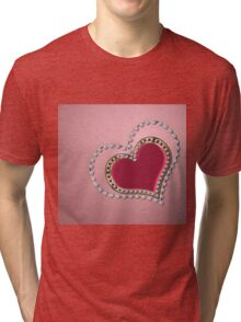 Heart of pearls Tri-blend T-Shirt