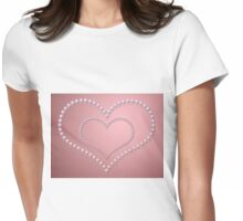 Heart of pearls 3 Womens Fitted T-Shirt
