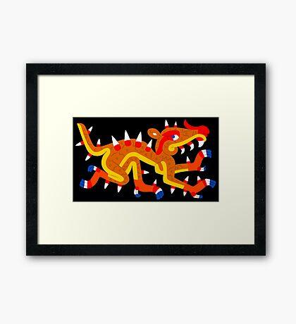 Cipactli Framed Print