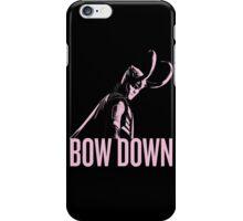 Loki: BOW DOWN iPhone Case/Skin