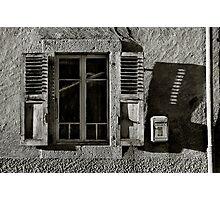 Lá Fenetre Photographic Print