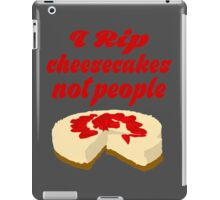 Cheesecake Ripper iPad Case/Skin