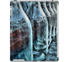 Milk bottles iPad Case/Skin
