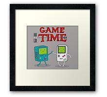 Game Time Framed Print