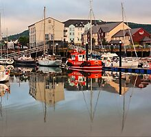 Carrickfergus Marina by Paul Hull
