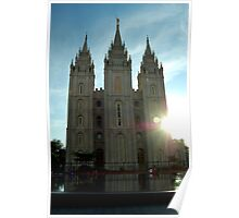 The Mormon Temple Poster