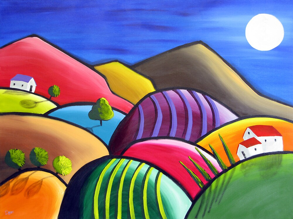 Winery Nights by Dean Williamson