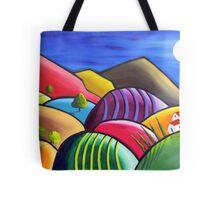 Winery Nights Tote Bag