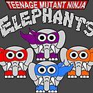 Teenage Mutant Ninja Elephants by ChrisButler