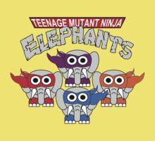 Teenage Mutant Ninja Elephants One Piece - Short Sleeve