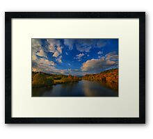 Sweep of Clouds  Framed Print