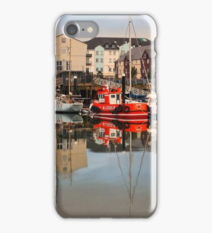 Carrickfergus Marina iPhone Case/Skin