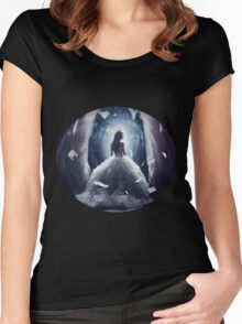 - Princess of Dark: Ashlinea - Women's Fitted Scoop T-Shirt