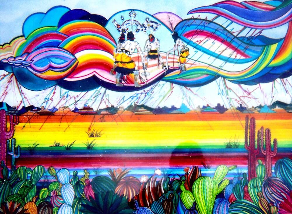 Sky Dancers by Jamie Winter-Schira