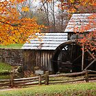 Mabry Mill in Fall by Norbert Rehm
