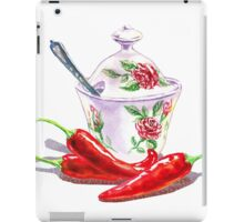 Hot Sweet Chili Peppers iPad Case/Skin