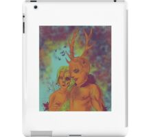 Hannibal and Bedelia - Spirits of the Forest iPad Case/Skin