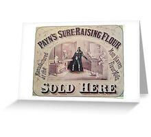 Dark Lord Baking Greeting Card