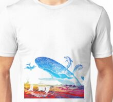 Moby Dick and the Red Sea Unisex T-Shirt