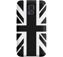 BRITISH, UNION JACK, FLAG, UK, UNITED KINGDOM, IN BLACK Samsung Galaxy Case/Skin