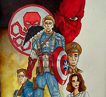 Captain America The First Avenger by Daniel Almeida