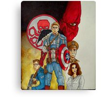 Captain America The First Avenger Canvas Print