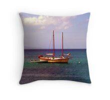 Cayman Pirates Throw Pillow
