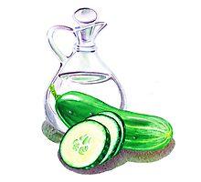 Happy Pickles by Irina Sztukowski