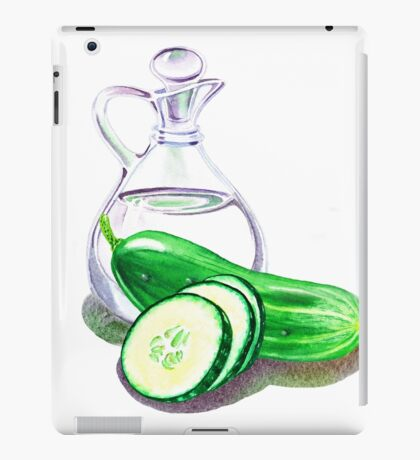 Happy Pickles iPad Case/Skin